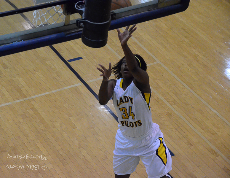LSUS' Kourtney Pennywell leads the RRAC in rebounding and is second in scoring.