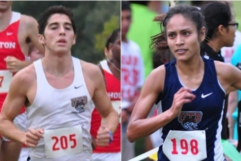 UTB's David Guillen and Vanessa Garcia placed in the top 20 against a large field at the NAIA's Pre-Nationals event.