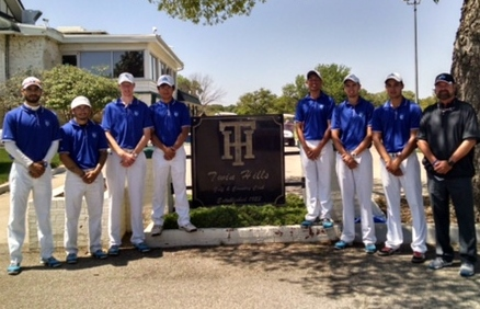OLLU's conference champion men's golf team following their victory in OKC.