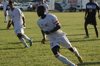 Bacone's Tobi Oganla accounted for eight goals in 14 matches last year.
