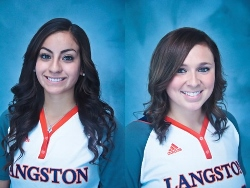 Langston's Christine Rosas and Morgan Thonhoff sparked a 6-0 week for the Lady Lions.