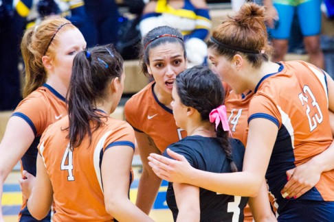 Freshman Bojana Mitrovic (right) played a big role in a 5-0 week for UTB.