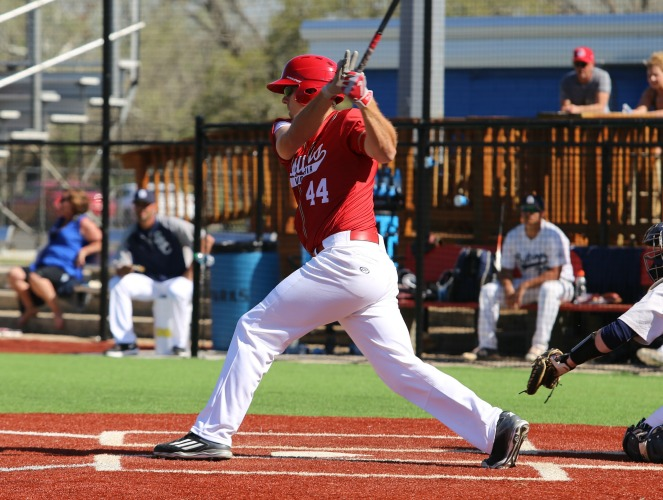 Andrew Gross has blasted 14 homers for UHV, placing him eighth on the RRAC single-season charts.