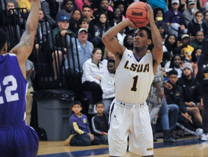 DeAngelo Coleman was named a first-team NAIA All-American as LSUA's leader.