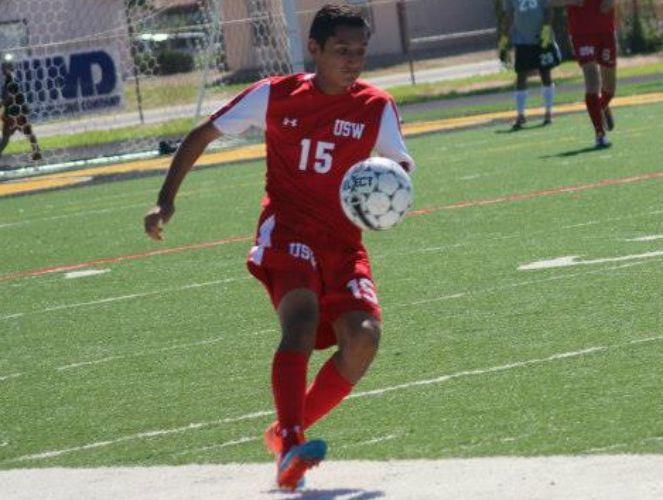 The Mustangs' Edrian Negrete is second in the nation in goals scored and points.
