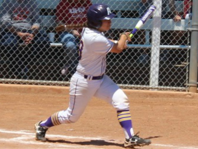 Julinn Torres hit a grand slam for LSUA in its win over OLLU.