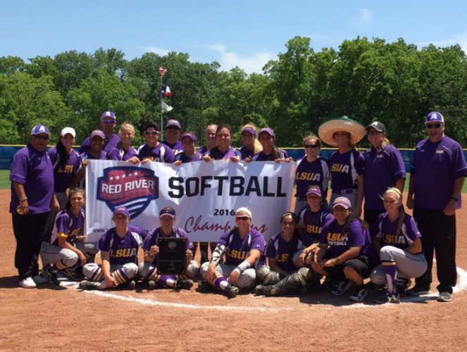 LSUA won its second straight RRAC softball tournament title.