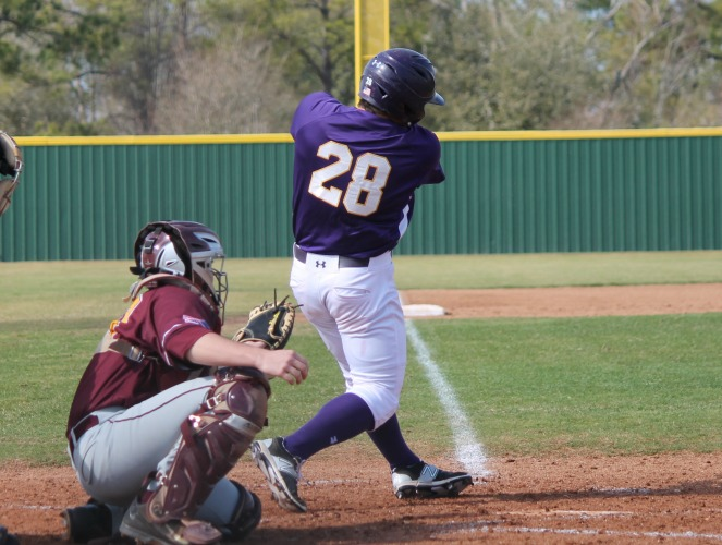 Logan Constantine is second in hitting this season in the RRAC with an average of .429.