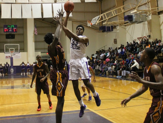 Xavier Graves posted a double-double in Wiley's home victory over Huston-Tillotson on Friday.