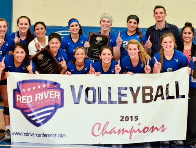 Our Lady of the Lake clinched its first RRAC volleyball title with a 3-1 victory over St. Thomas