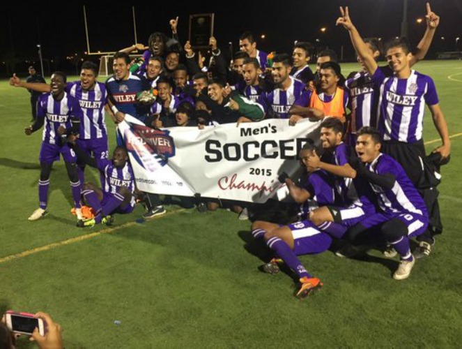 Wiley became the first #6 seed to win the RRAC men's soccer tournament title.