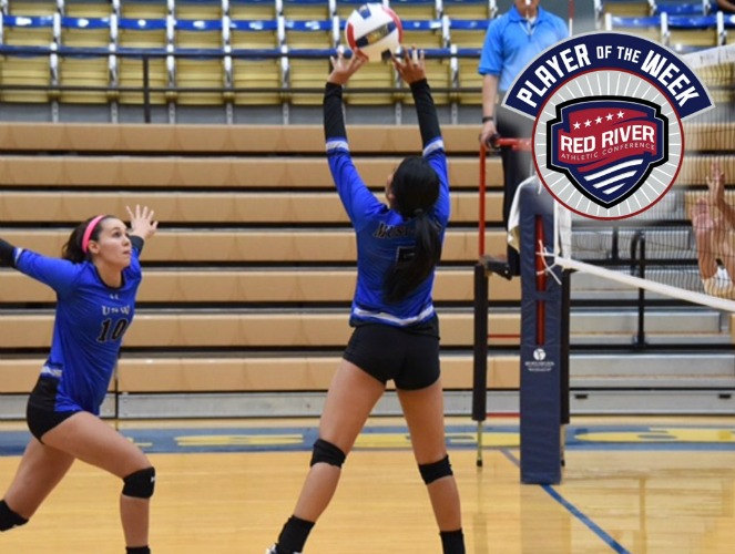 Brenda Pargas of USW won her fourth RRAC Setter of the Week award.