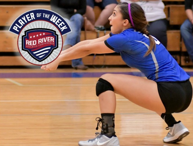 Brittany Martinez shifted to libero and helped OLLU secure two key wins.