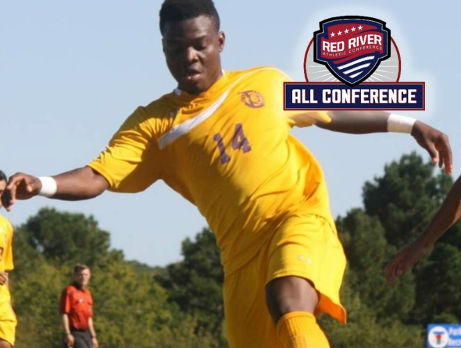 Confidence Ogo became the first Texas College player ever to be selected as Offensive Player of the Year.