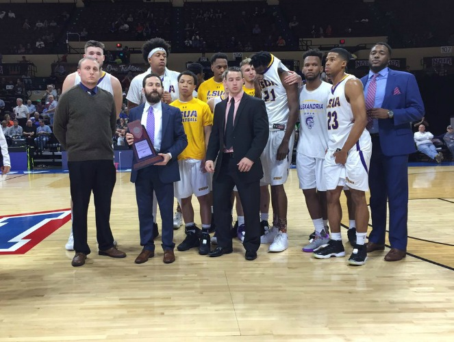 LSUA became the first RRAC men's basketball team to have a perfect conference season.