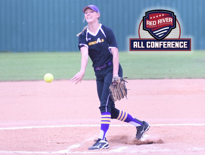 Marci West won her second straight RRAC Pitcher of the Year award.