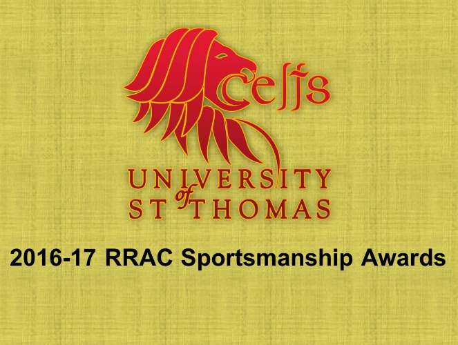 Photo for St. Thomas claims fifth consecutive RRAC Sportsmanship Award