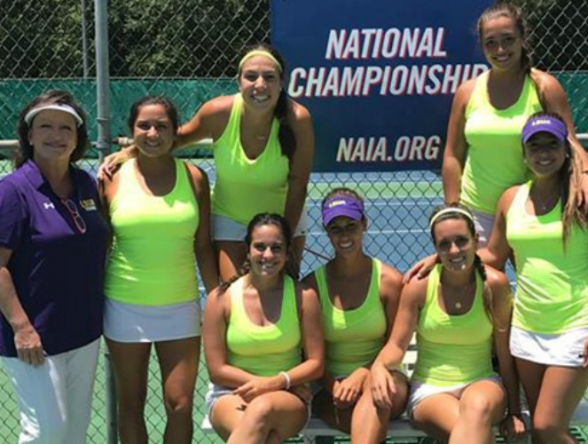 The Generals reached the NAIA women's tennis quarterfinals for the first time.