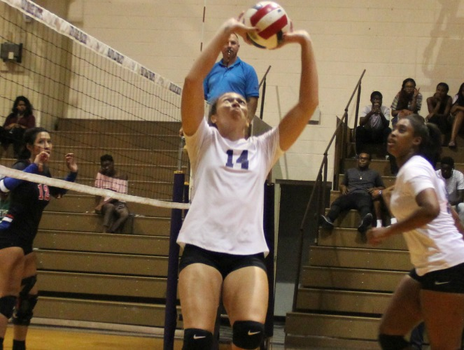 Alexia Souza led Wiley to two wins with 59 assists last week.
