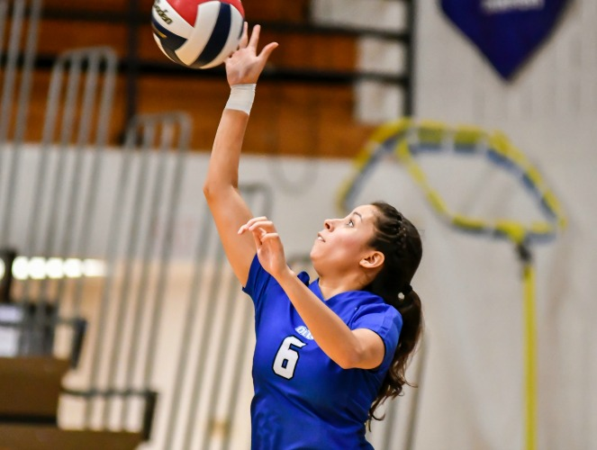 Anissa Tamez accounted for 29 digs for OLLU last week.