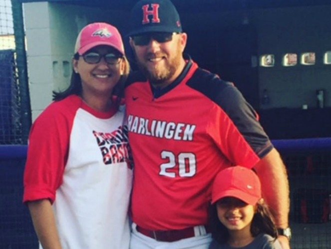 Bryan Aughney (with family) previously served as the RRAC Baseball Chair.