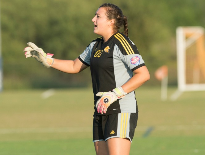 Emma Pinkerton posted back-to-back shutouts for UST last week.